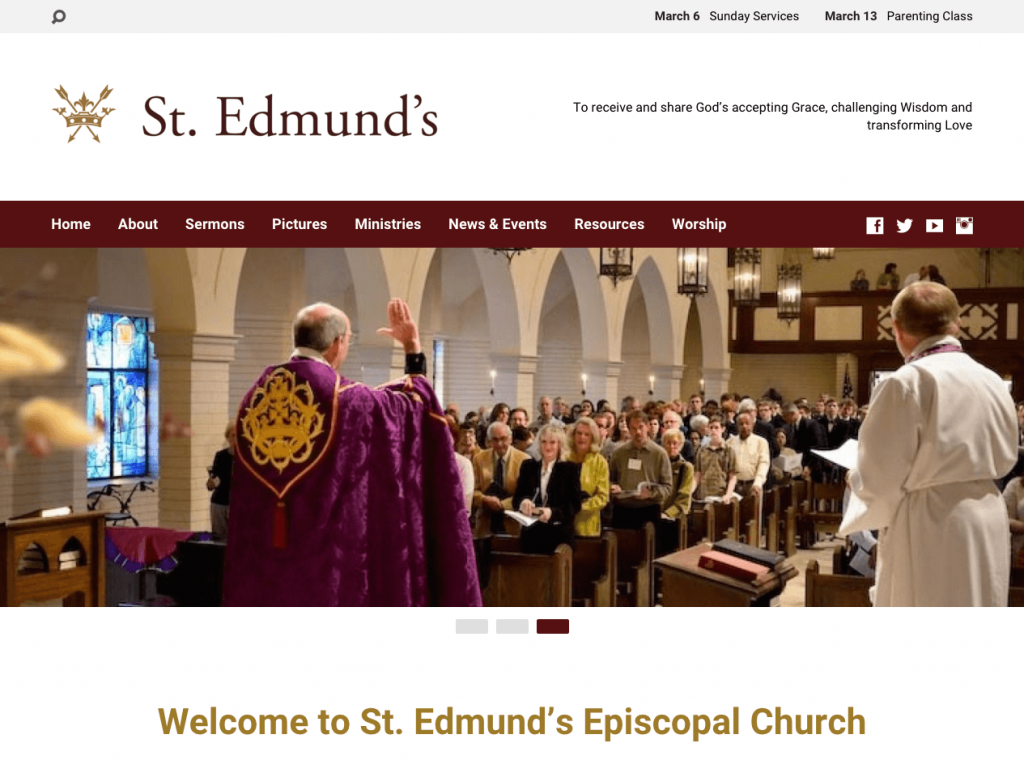 St. Edmund's Home Page