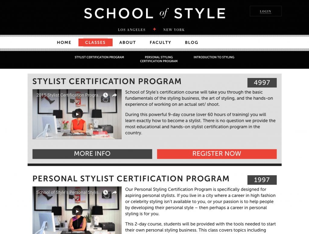 School of style tyler digital sos classes 1betcityfo Choice Image