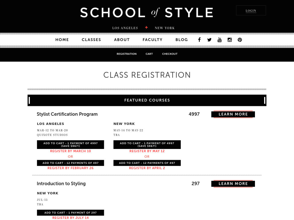 SOS - Registration