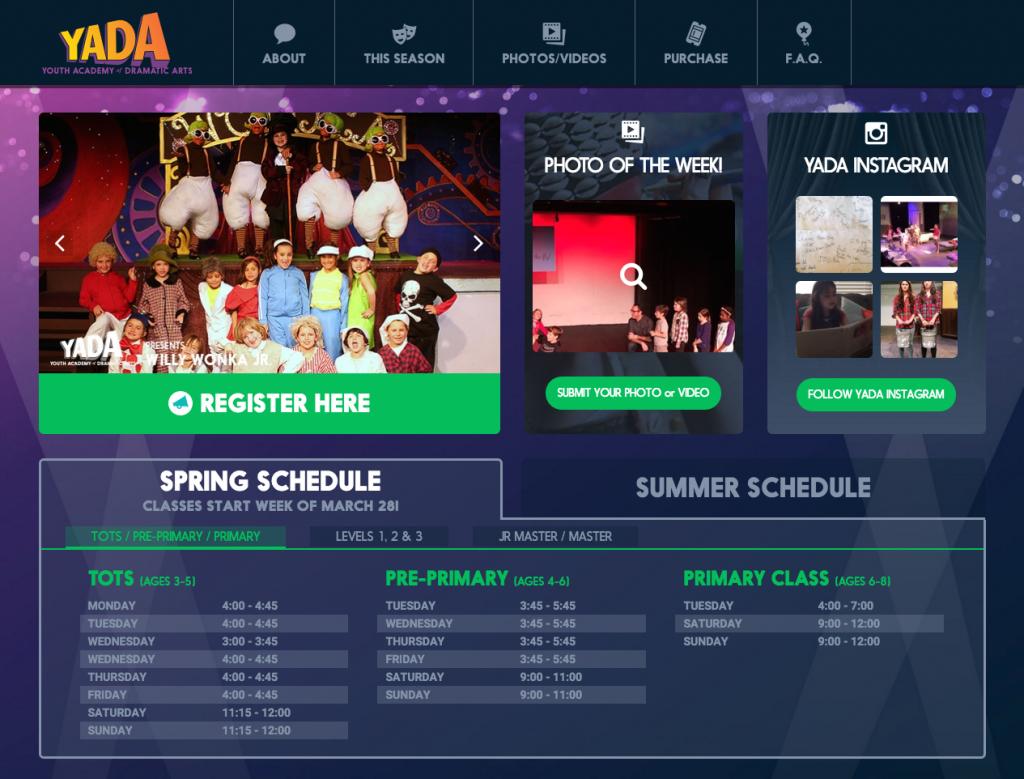Yada Homepage