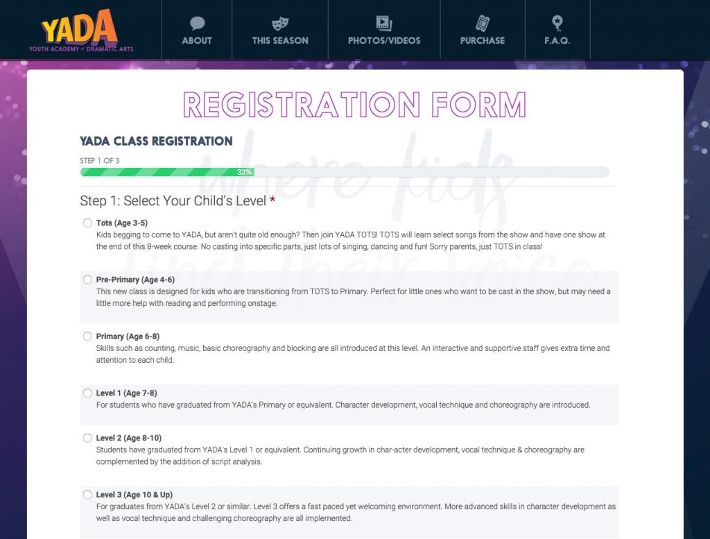 Yada Registration