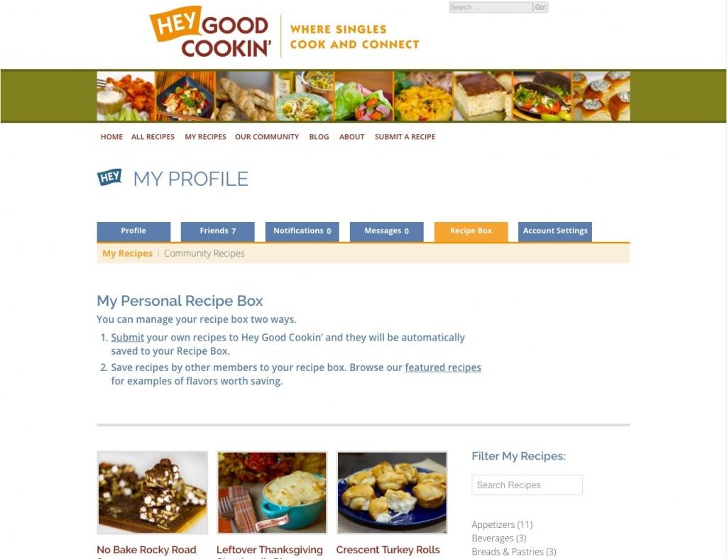 HGC - Recipe Box