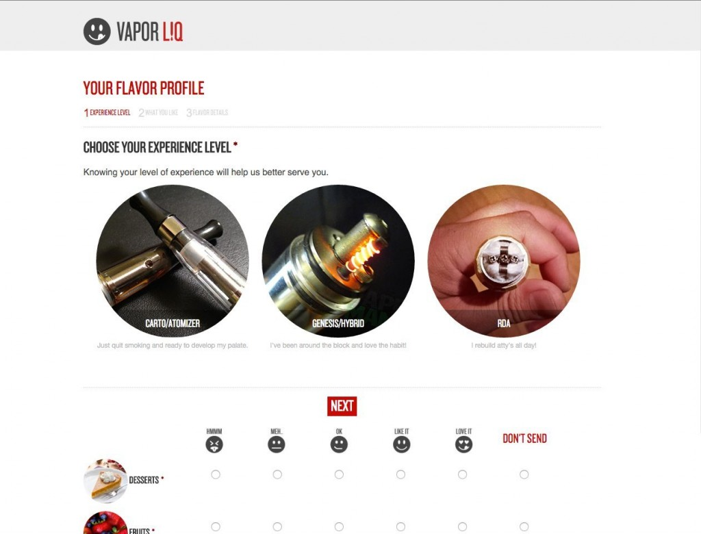Vapor Liq - Flavor Profile